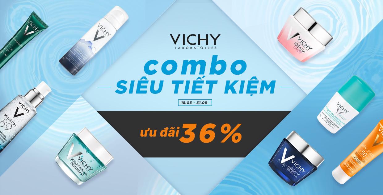 Vichy mỹ phẩm cao cấp, chính hãng - Ưu đãi lên đến 36%