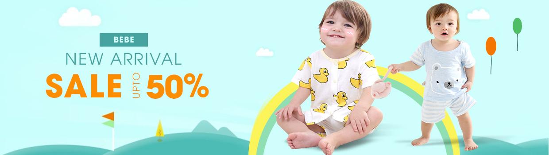 Thời trang trẻ em mùa hè Bebe - giảm giá 50%