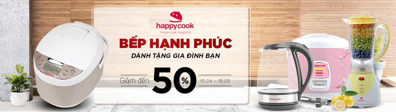Bếp núc là hạnh phúc -  giảm 50%