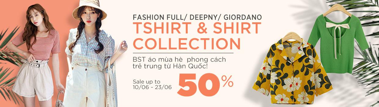 Tshirt & Shirt Collection - Giảm đến 50%