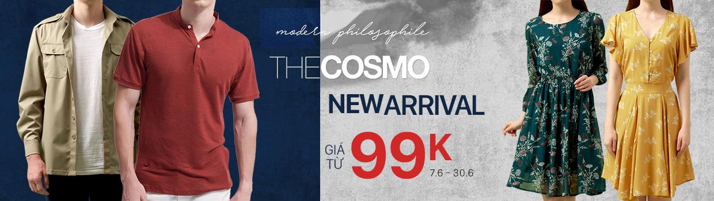 The Cosmo: Giá chỉ từ 199K
