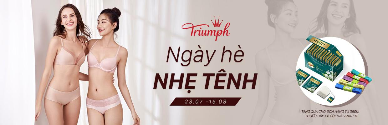Cùng Triumph cho ngày hè nhẹ tênh