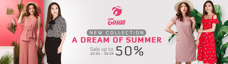 Thời trang công sở Toson Fashion giảm giá 50%