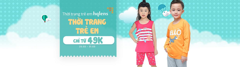 Thời trang trẻ em HQLENs giá chỉ 49K
