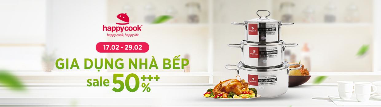 Gia dụng nhà bếp - Sale 50%