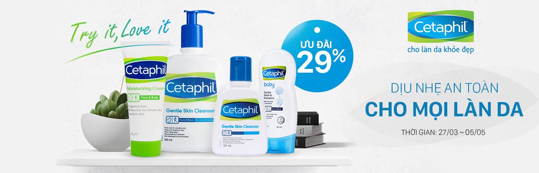 Cetaphil chính hãng Canada giá tốt  - giảm 20%