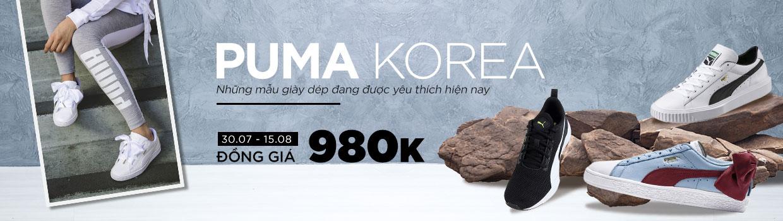 Puma Korea những mẫu giày được yêu thích nhất - Đồng giá 980K