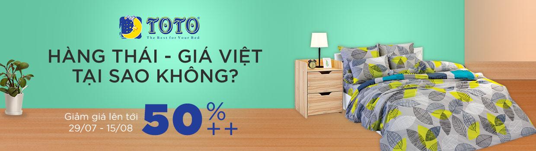 Chăn ga gối hàng Thái giá Việt - giảm 50%
